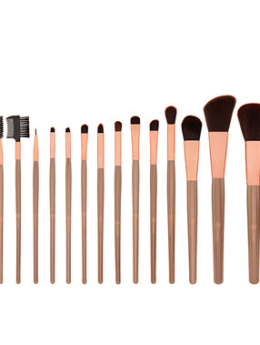 Pinceaux Rose Gold Brush Set