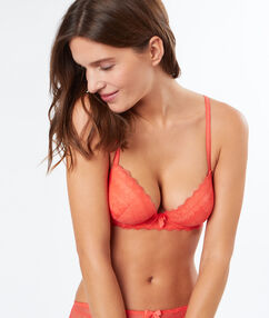 Soutien-gorge n°1 - magic up corail.