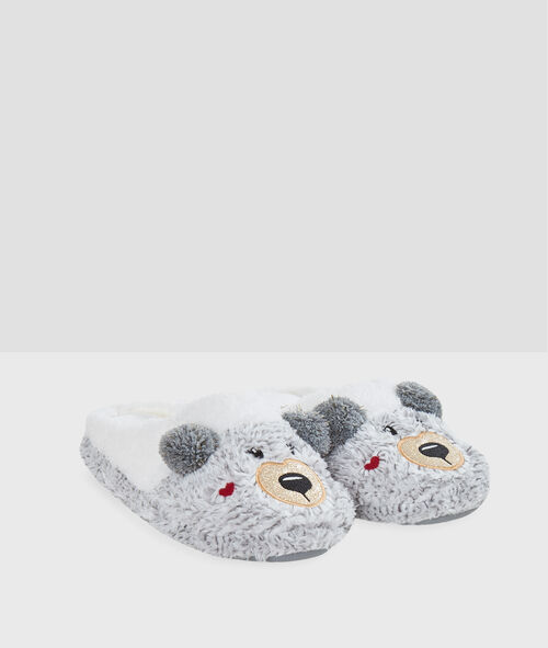 Chaussons doudou