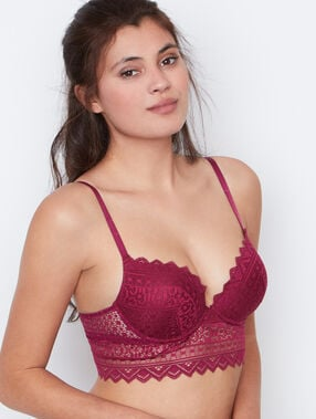 Soutien-gorge n°1 - push up prune.
