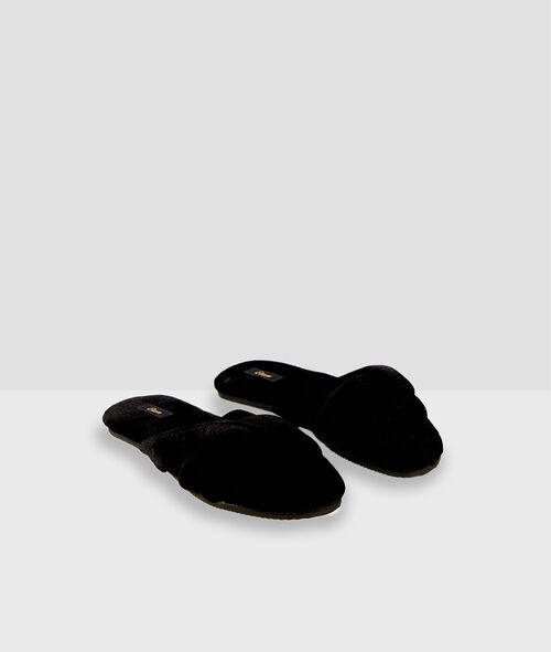 Chaussons tongs en coton