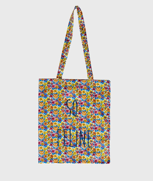 Tote bag liberty animalier et pailleté LIBERTY