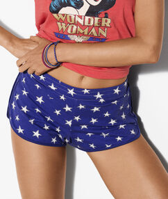 Short wonder woman blue.