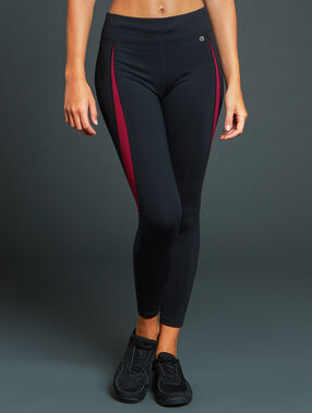 Pantalon de sport 7/8 ultra stretch black.