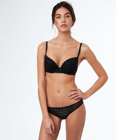 Soutien-gorge n°1 - magic up noir.