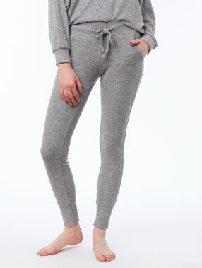 Pantalon leggings homewear gris.