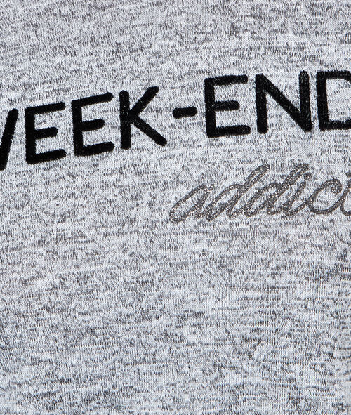 T-shirt épais à message