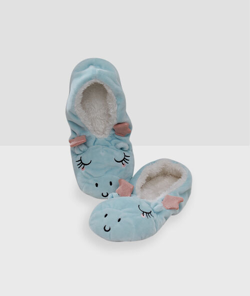Chaussons souples dinosaures