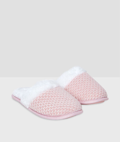 Mules style tricot