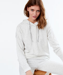 Sweat homewear gris.