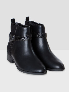Bottines noir.