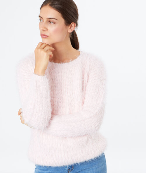 Pull doux col rond