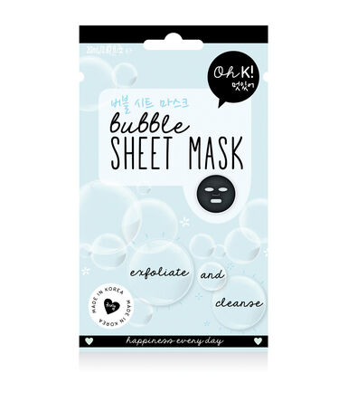 Masque visage bubble
