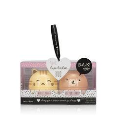 Duo de baume à lèvres chat