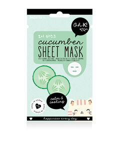 Masque visage au concombre