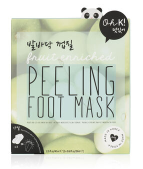 Masque exfoliant pour les pieds