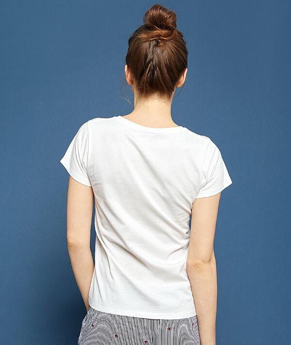 """T-shirt imprimé """"Love Yourself First"""""""