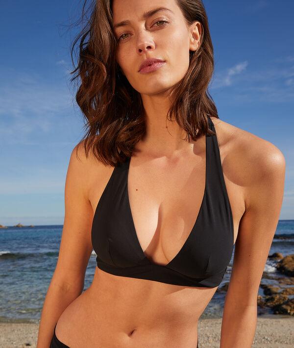 Triangle foulard sans armatures maillot de bain - ESSENTIELLE - 40 - Noir - Femme - Etam