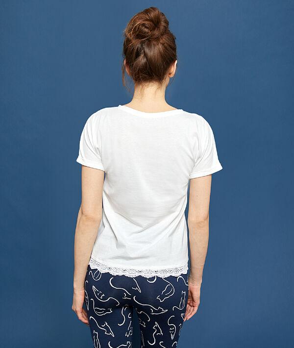 """T-shirt imprimé """"Chaton"""";${refinementColor}"""