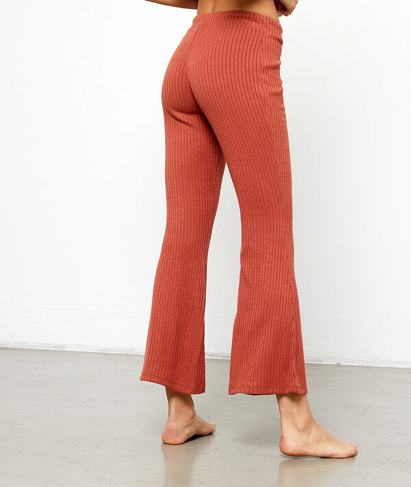 Pantalon fluide bas évasé