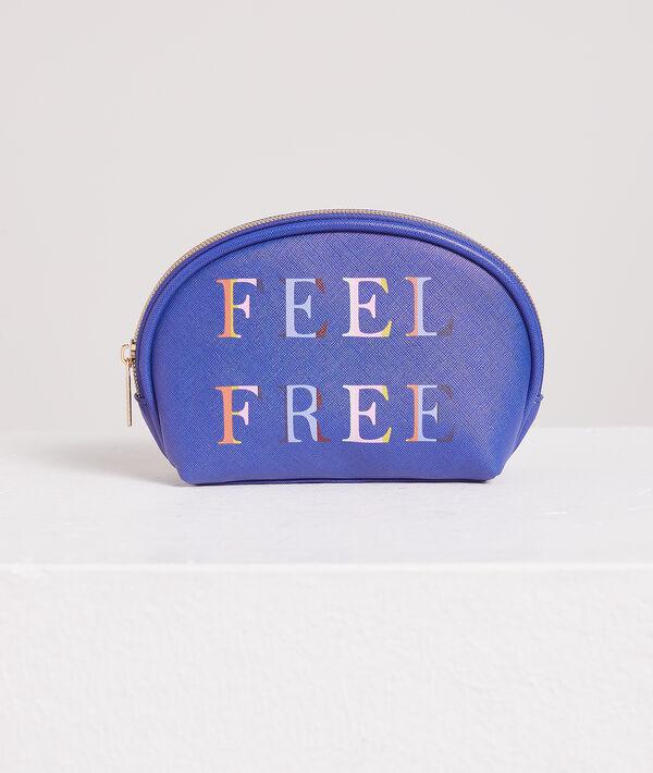 """Lot de 3 Trousses """"Feel free"""";${refinementColor}"""