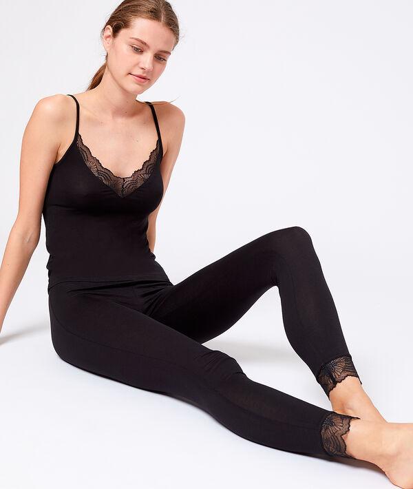 Leggings bas dentelle