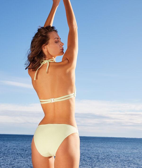 Culotte bikini rayée maillot de bain;${refinementColor}
