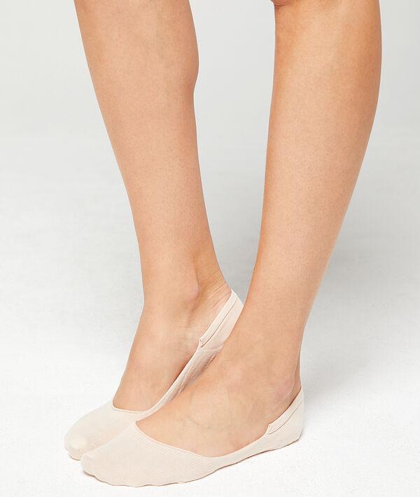 Lot de 2 paires de socquettes invisibles;${refinementColor}