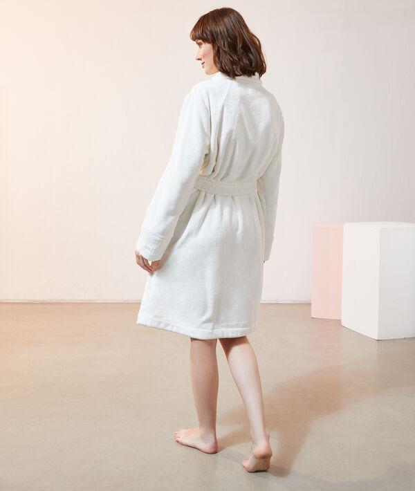 Déshabillé polaire long homewear;${refinementColor}