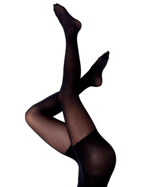 Collants confort tonique 30d noir.