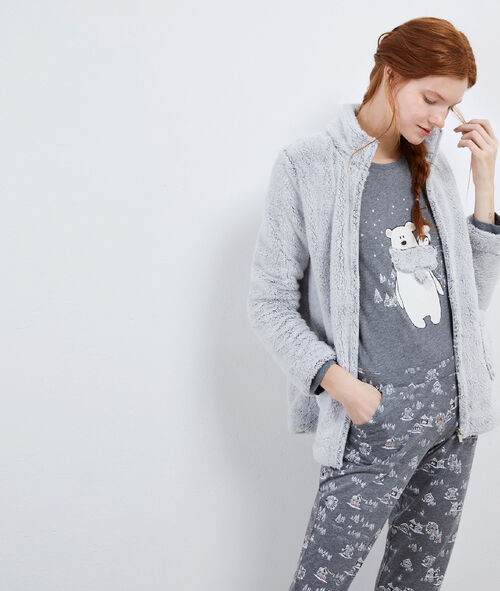 Pyjama trois pièces nounours
