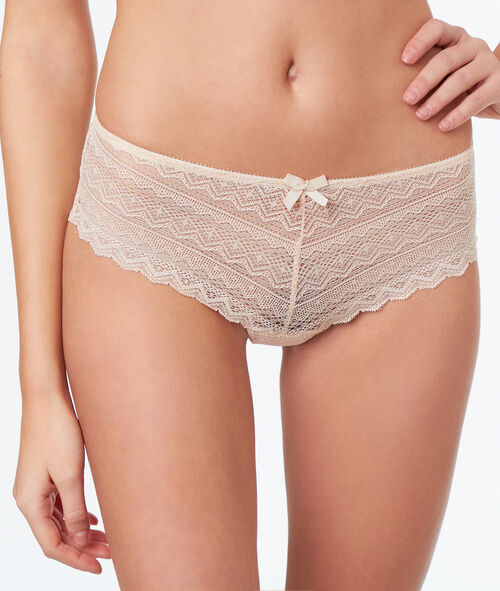 Shorty en dentelle