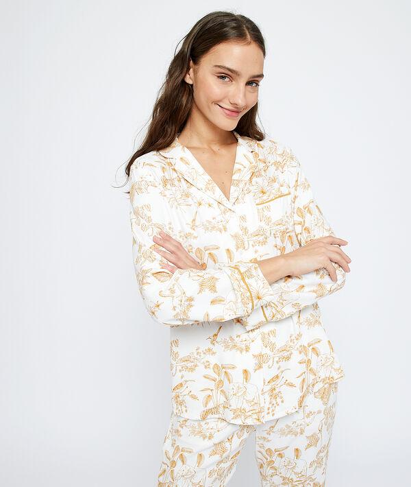 Chemise de pyjama imprimée;${refinementColor}