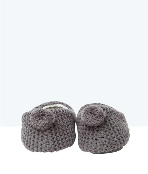 Ballerines en tricot, détail queue 3D
