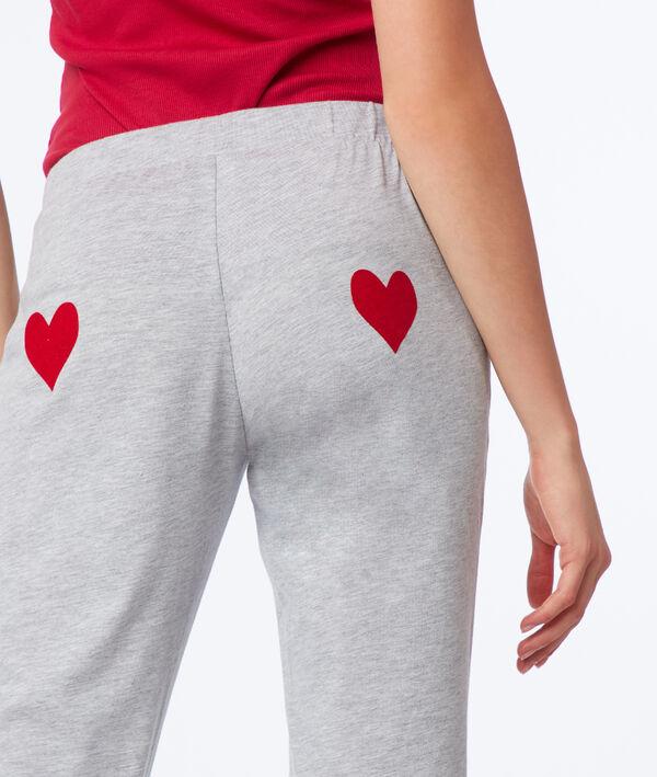 Pantalon coeur