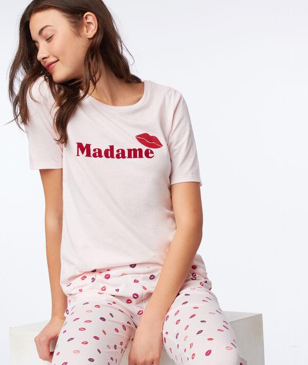 """T-shirt """"Madame"""" dos coeur"""