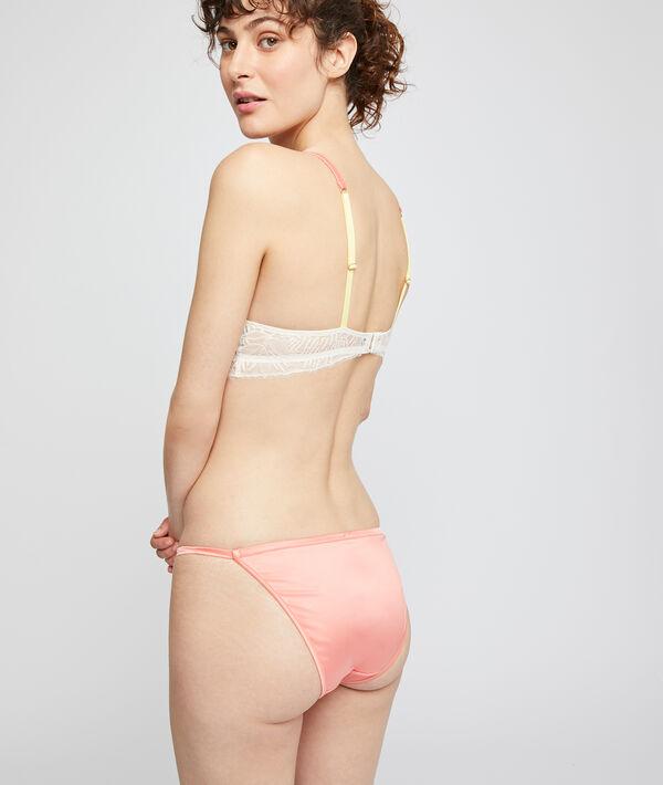 Culotte bikini satinée;${refinementColor}