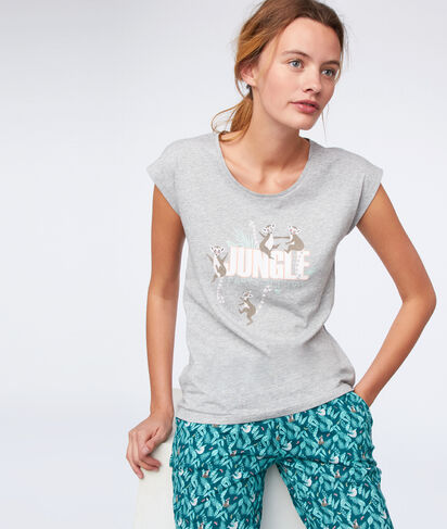 "ROMIE - T-SHIRT ""JUNGLE PARTY ALL DAY"" EN COTON BIO"