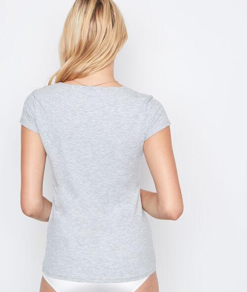 T-shirt fin et ultra chaud
