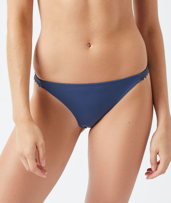 Culotte bikini en microfibre;${refinementColor}