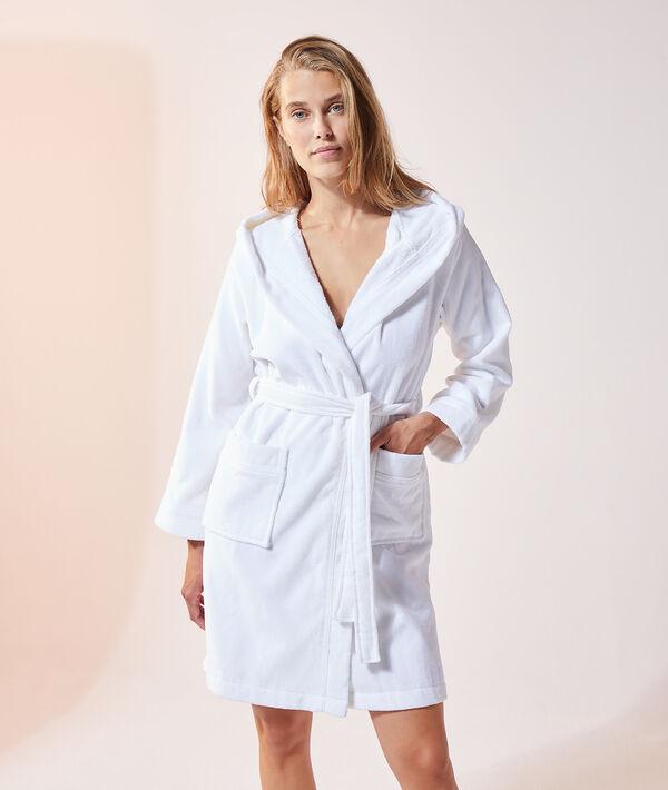 Peignoir à capuche homewear;${refinementColor}