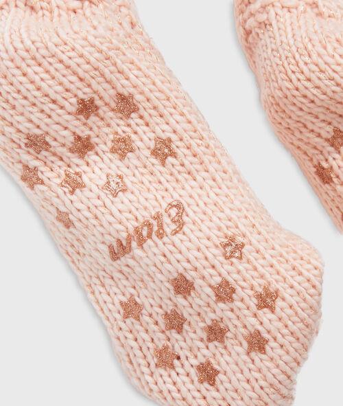 Chaussettes d'intérieur doublées