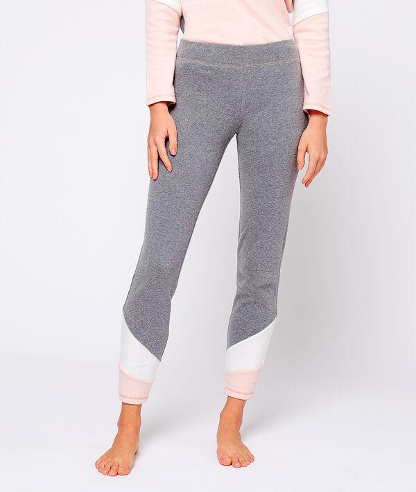 Pantalon homewear bandes graphiques