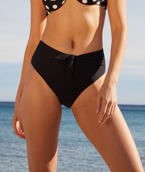 Culotte taille haute maillot de bain;${refinementColor}