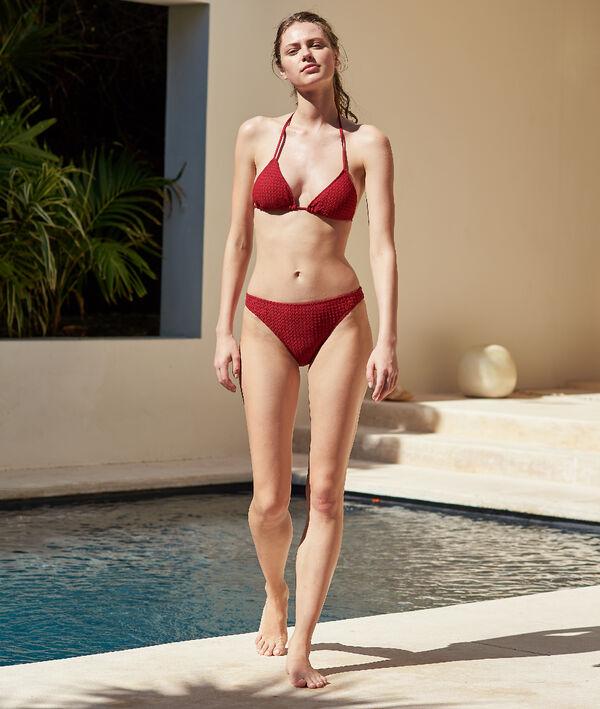 Bas de bikini simple matiéré