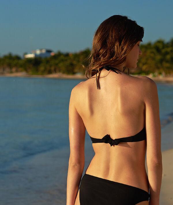 Haut de maillot de bain triangle, pads amovibles