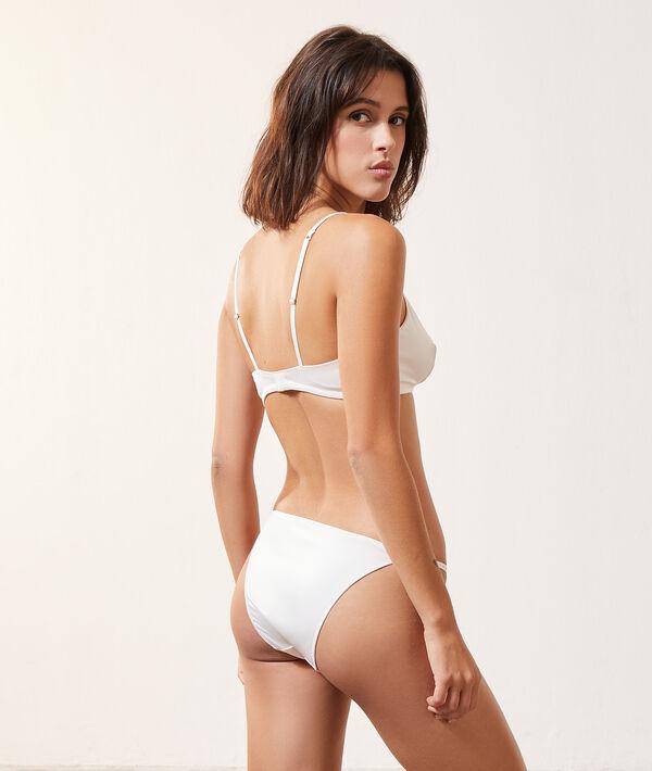Culotte bikini effet satiné;${refinementColor}
