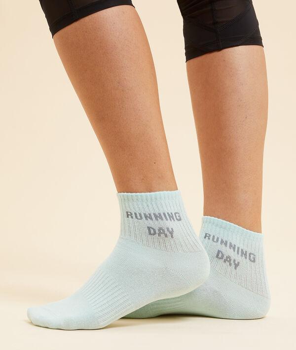 "Chaussettes de sport ""Running day"";${refinementColor}"