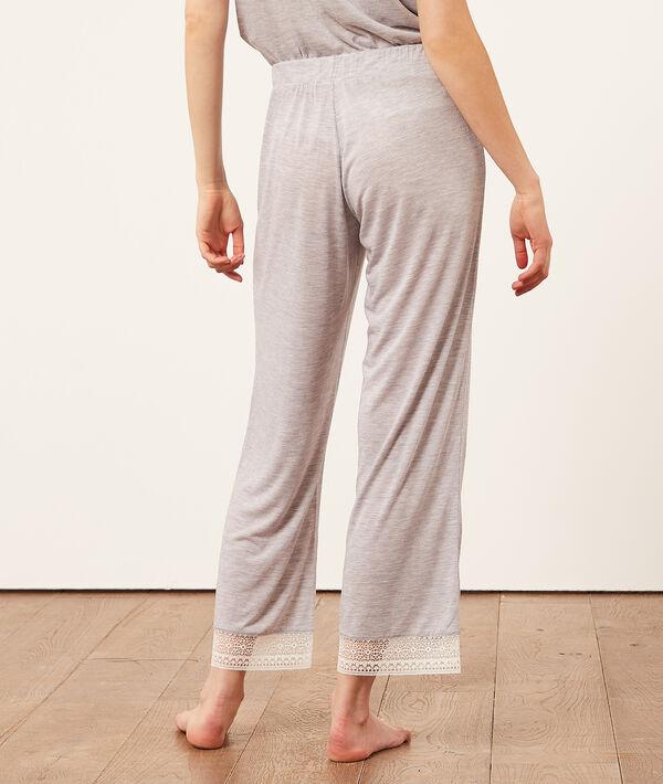 Pantalon de pyjama 7/8;${refinementColor}