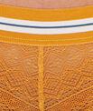 Shorty dentelle, détail bande élastique coloré